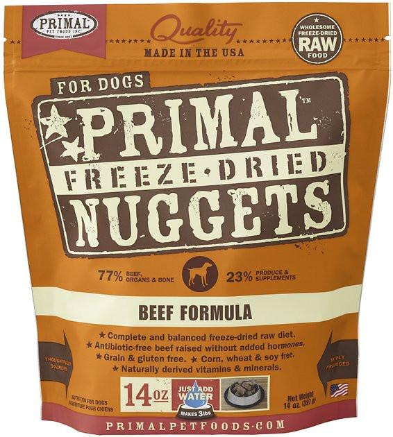 Primal Canine Beef Formula ( Freeze Dried)