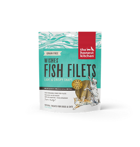 15% OFF: The Honest Kitchen Wishes- Grain Free Fish Fillets 85g