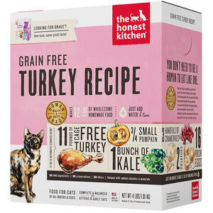 15% OFF: The Honest Kitchen® Grace Turkey Grain-Free Dehydrated Cat Food (2 sizes)