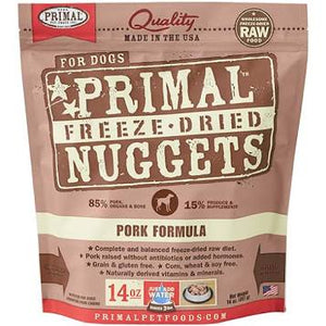 Primal Canine Pork Formula ( Freeze Dried)