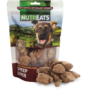 Nutreats Freeze Dried New Zealand Sheep Liver