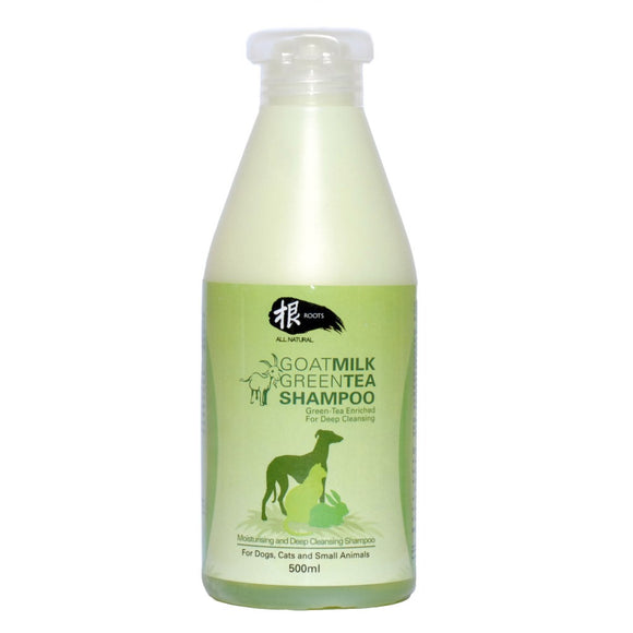 ROOTS GOAT MILK GREEN TEA SHAMPOO