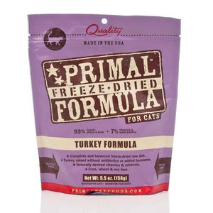 Primal: Freeze Dried Feline Turkey Nuggets (4 bags)