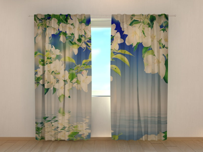 3D Curtain Apple Tree - Wellmira