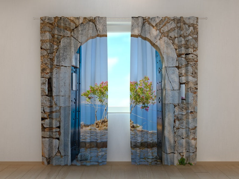 Photocurtain Archway to the Sea - Wellmira