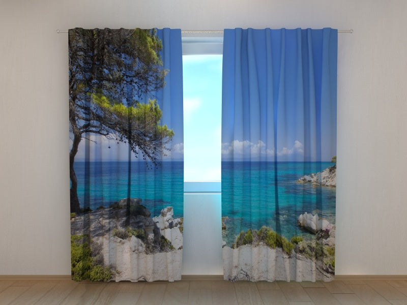 Photo Curtain Awesome Greece