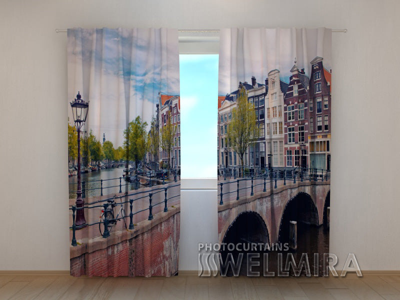 Photo Curtain Bridge in Amsterdam - Wellmira