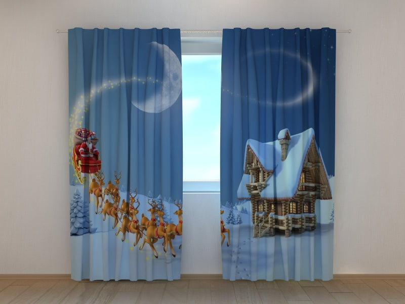Photo Curtain Christmas Story - Wellmira