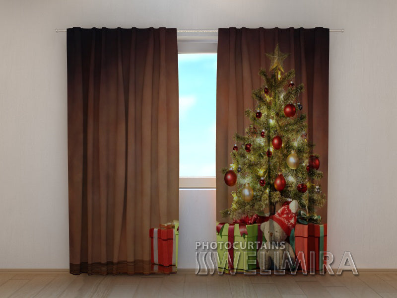 3D Curtain Christmas Surprise 2 - Wellmira