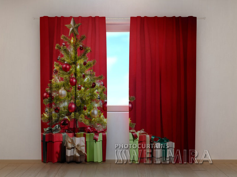 3D Curtain Christmas Surprise - Wellmira