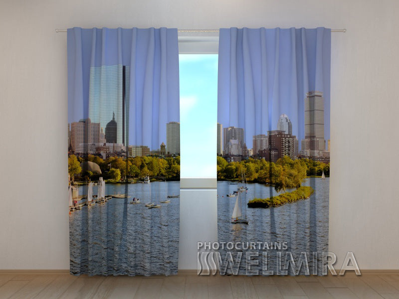 Photo Curtain City Harbour - Wellmira