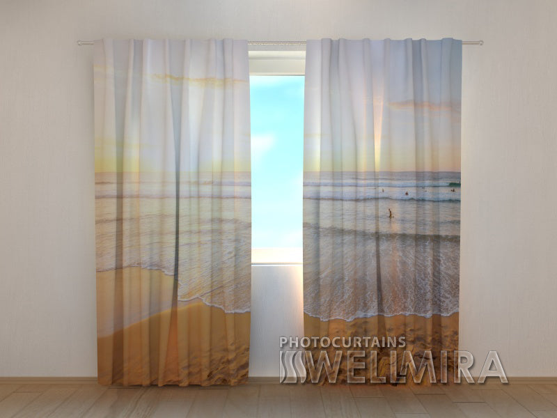 Photo Curtain Coast of Spain - Wellmira