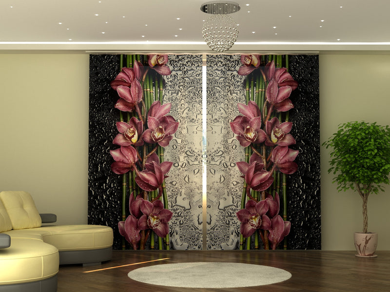 Photo-curtain  Drop of Beauty W290xH250 cm - Wellmira