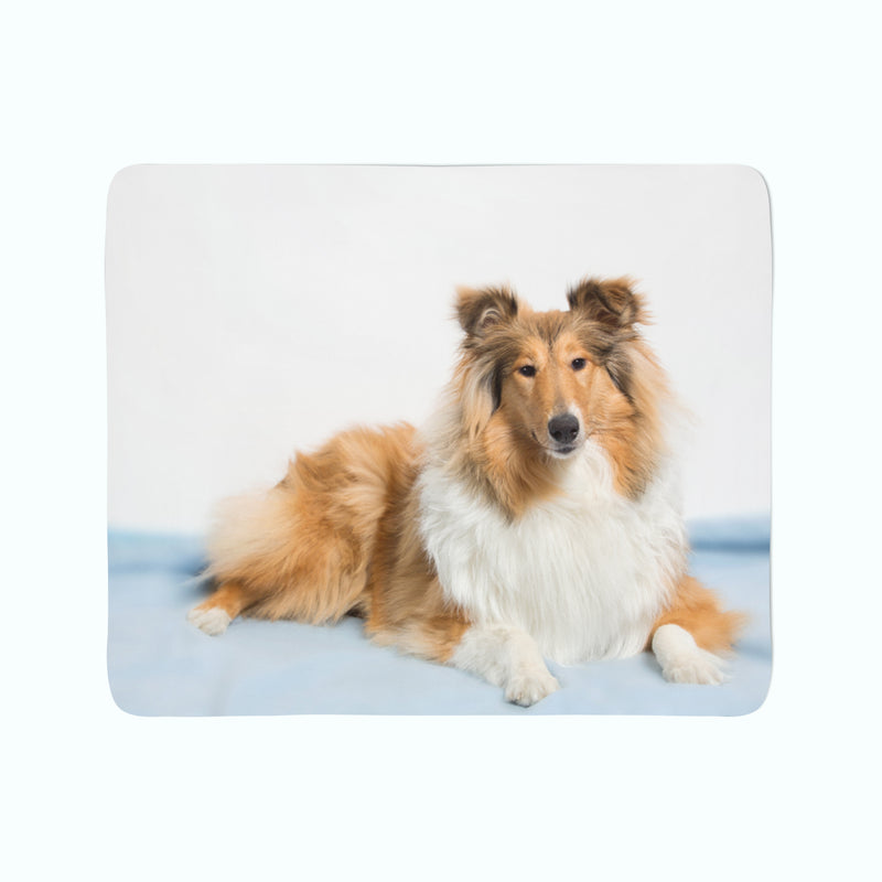 Fleece Blanket Beautiful Collie