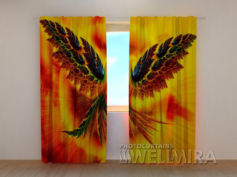 3D Curtain Firebird - Wellmira
