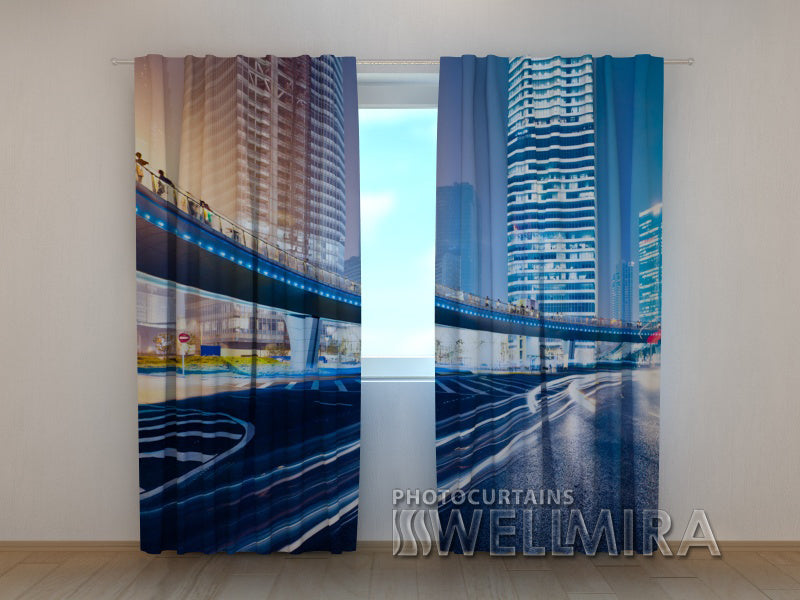 Photo Curtain Foot-Bridge - Wellmira