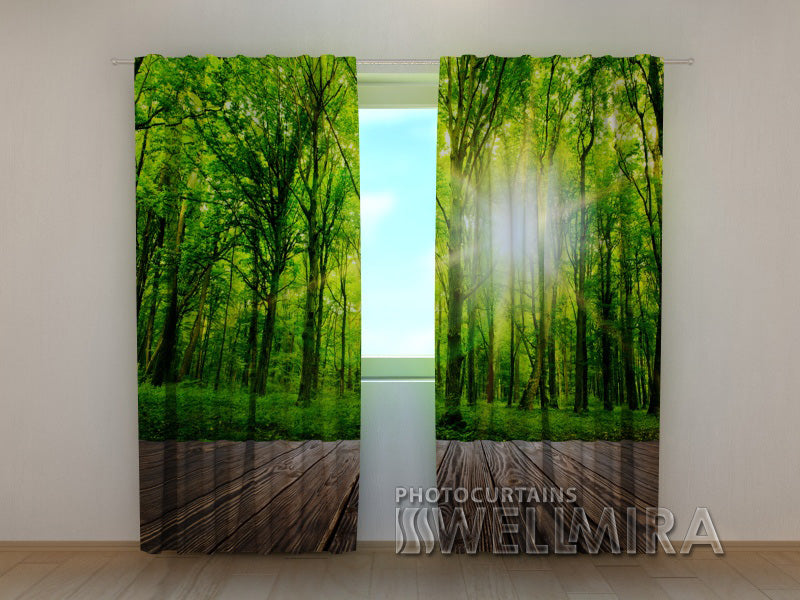 Photocurtain Forest at the Doorstep - Wellmira