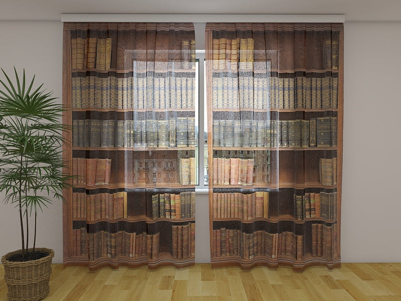 Photo Curtain Bookcase