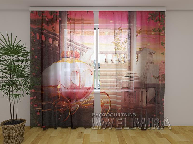 3D Curtain Carriage for a Princess - Wellmira