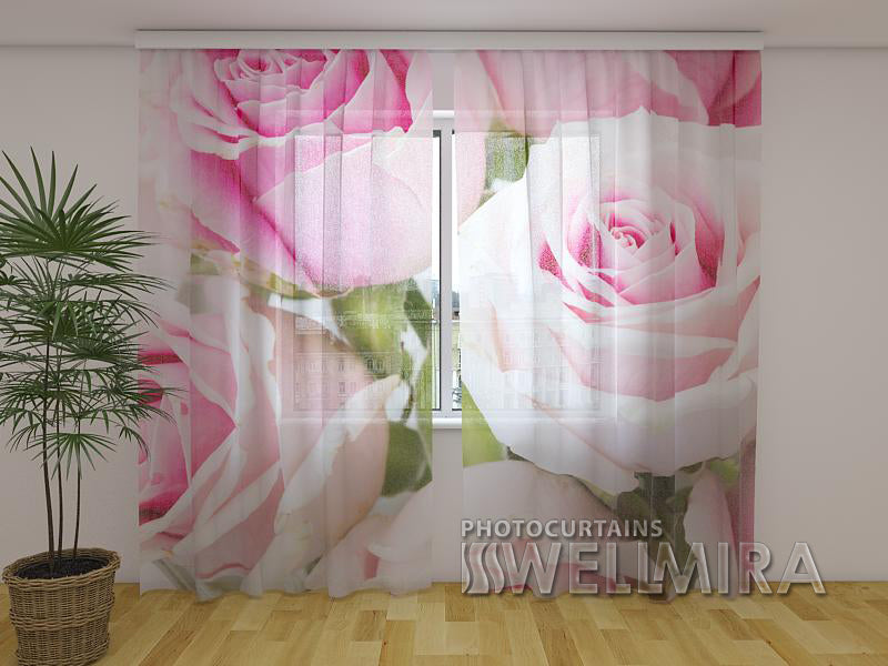 Photocurtain Royal Roses - Wellmira