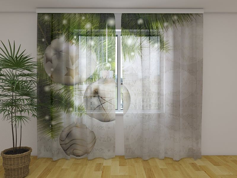Photo Curtain Silver - Wellmira