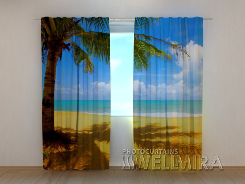 Photo Curtain Hot Summer - Wellmira