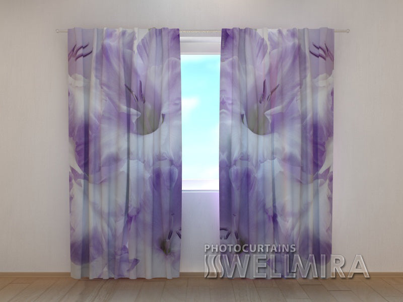 Photo Curtain Gladioli - Wellmira