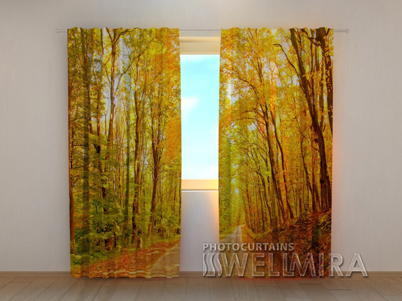 Photocurtain Golden Park - Wellmira