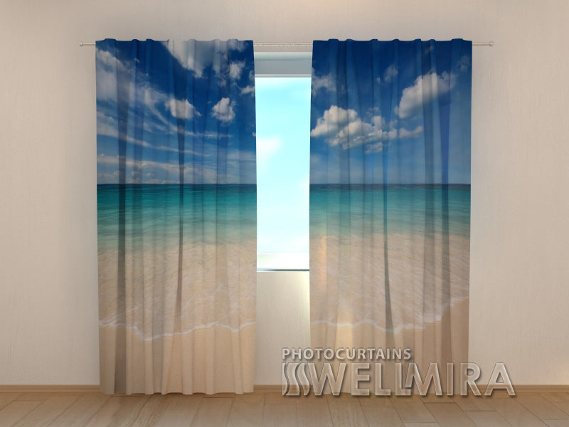 Photo Curtain Golden Sand - Wellmira