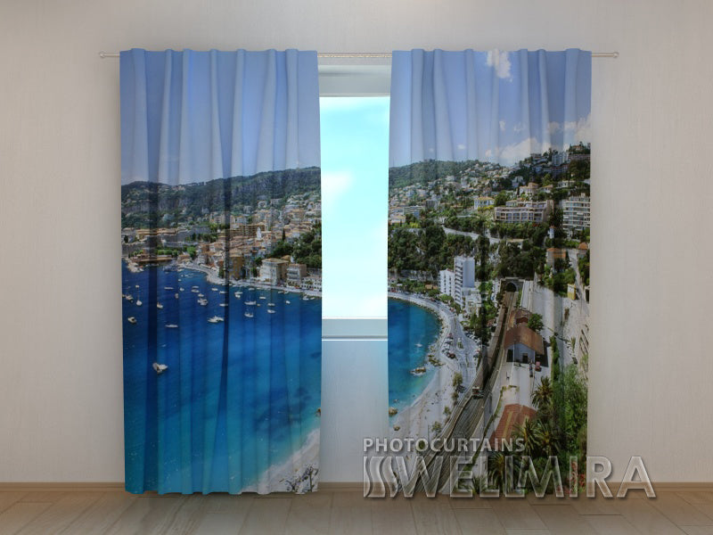 Photo Curtain Greece - Wellmira