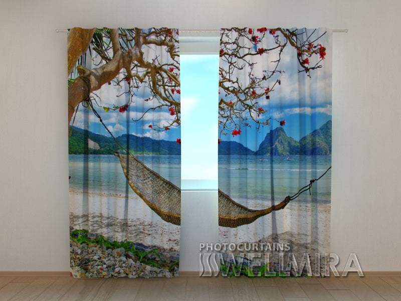 Photo Curtain Hammock - Wellmira