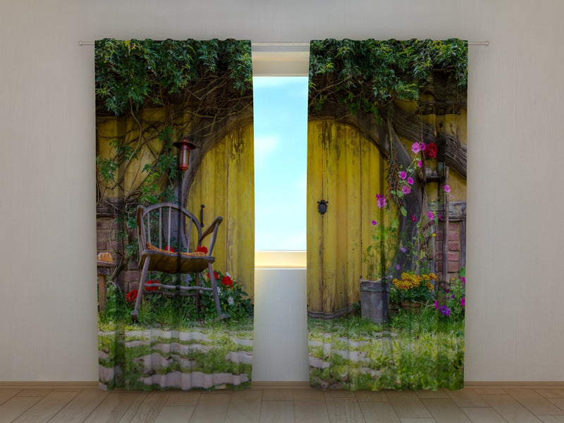 Photo Curtain Hobbit House - Wellmira