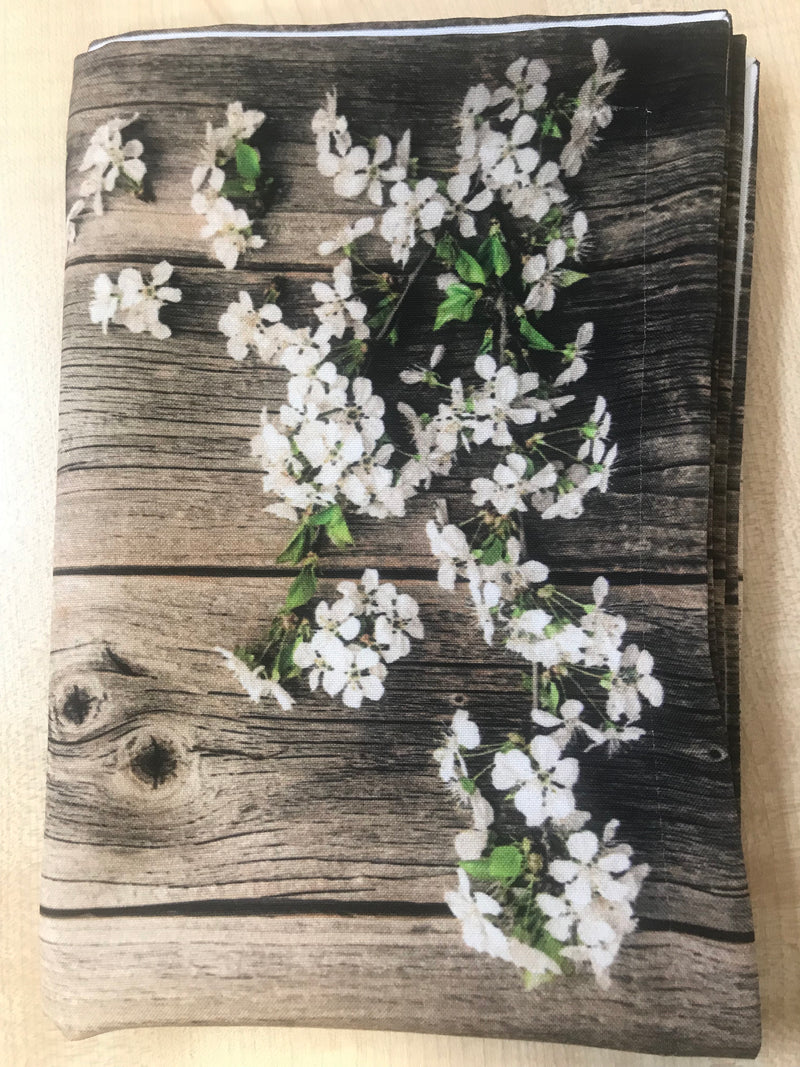Tablecloth Blossom and wood - Wellmira