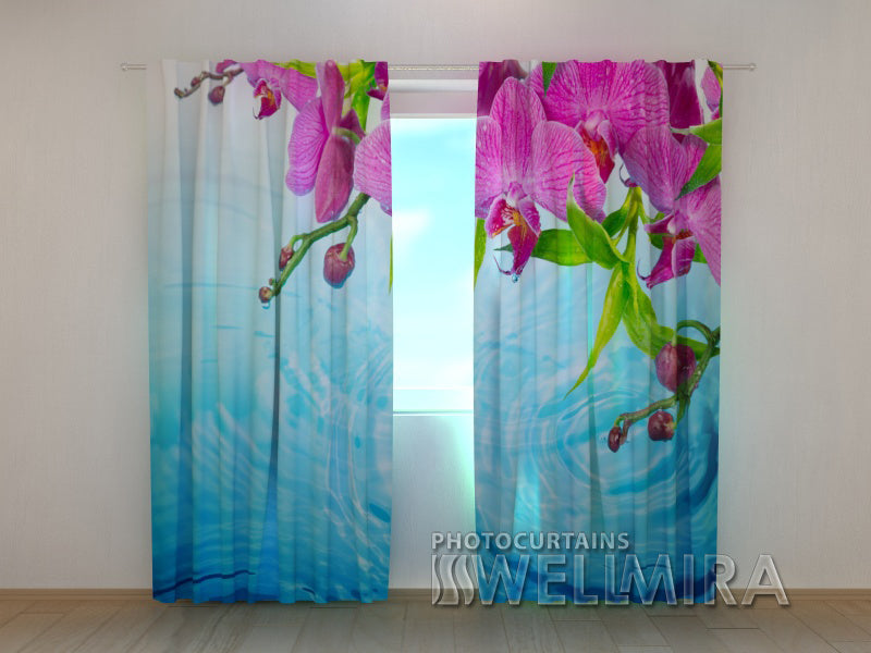 Photocurtain Amazing Orchid - Wellmira
