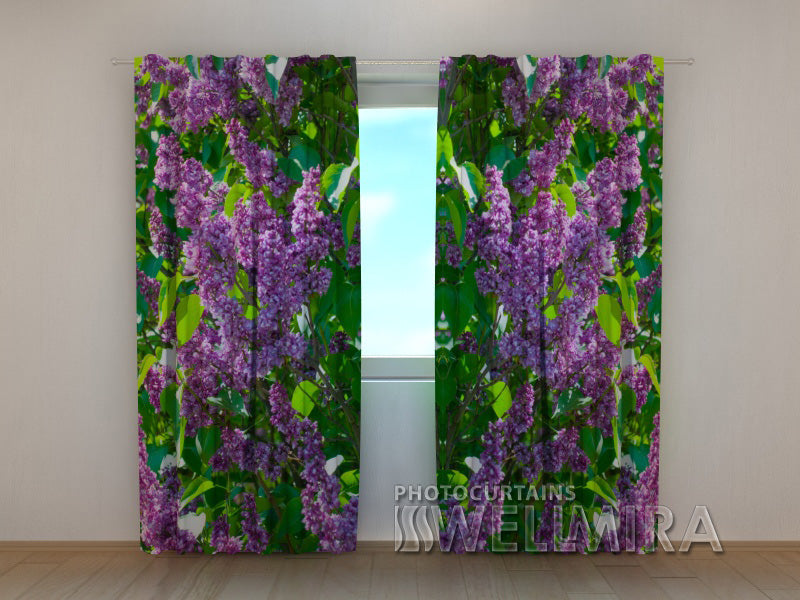 3D Curtain Lilac 1 - Wellmira