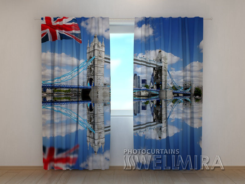 Photo Curtain London Bridge - Wellmira