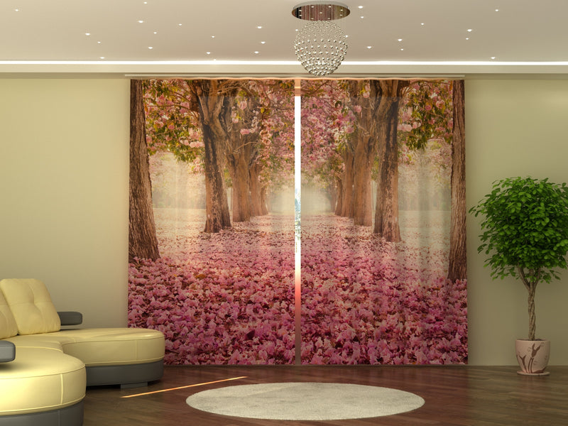 Photo-curtain Magnolia Alley W290xH250 cm - Wellmira