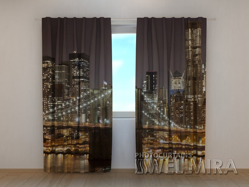 Photo Curtain Manhattan Bridge 4 - Wellmira