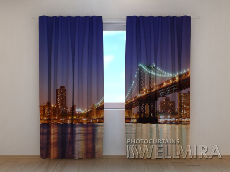 Photo Curtain Manhattan Bridge 5 - Wellmira