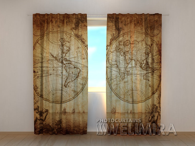 Photo Curtain Map