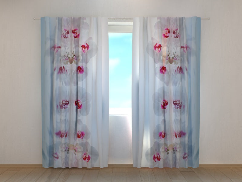 Photo Curtain Music Orchids