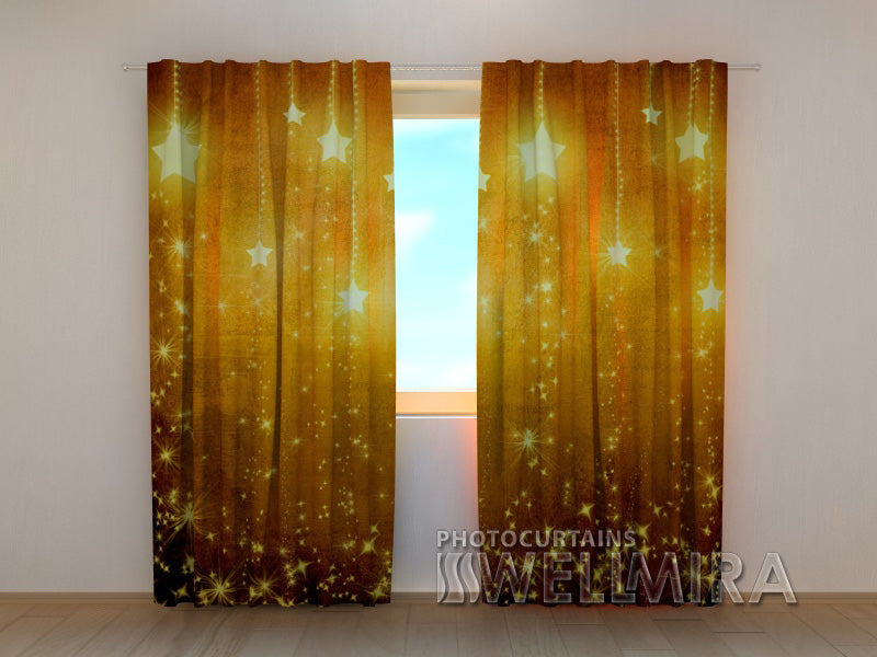 Photo Curtain New Year Curtain - Wellmira