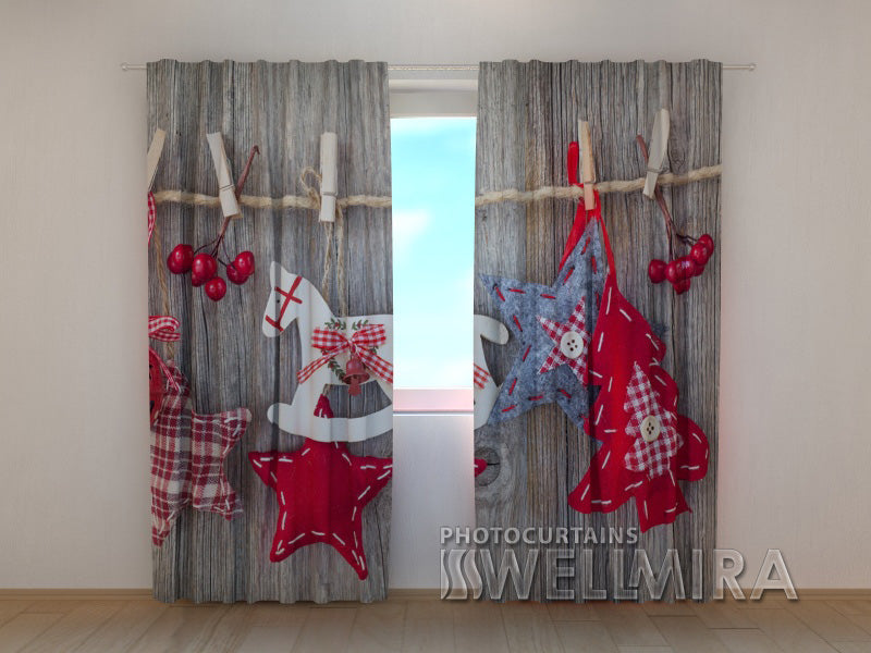 Photo Curtain New Year Curtain 2 - Wellmira