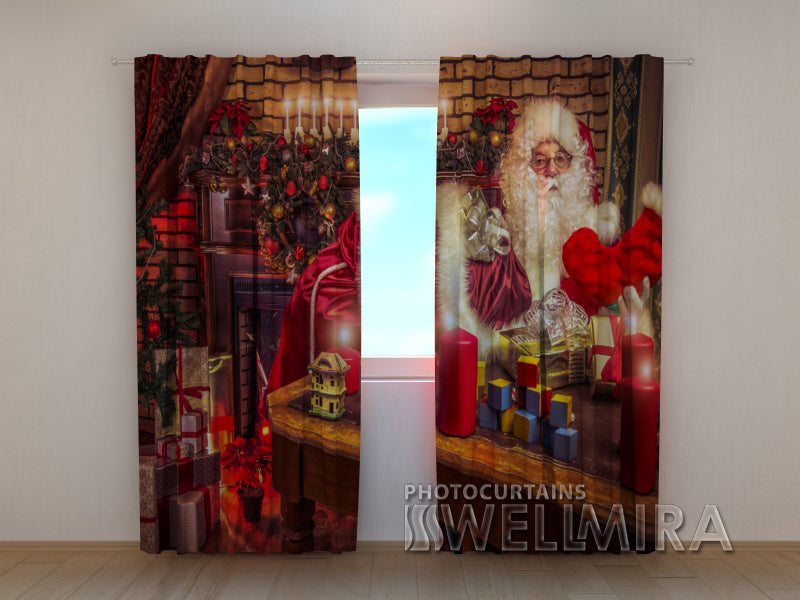 Photo Curtain New Year's Night - Wellmira