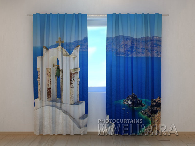 3D Curtain Old Bell - Wellmira