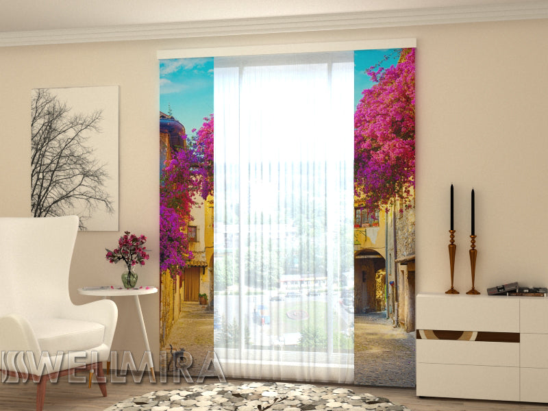 Set of 2 Panel Curtains  Italian Patio - Wellmira