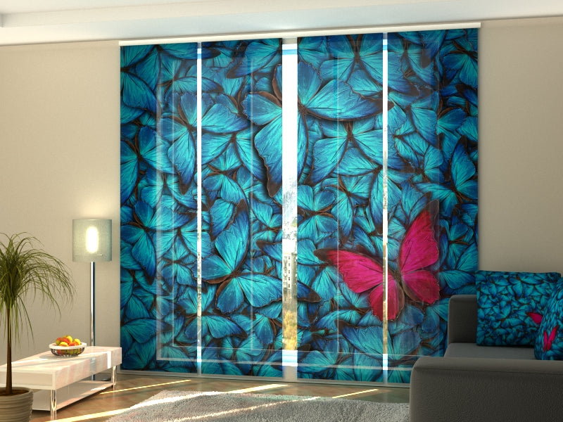 Set of 4 Panel Curtains Admiration - Wellmira