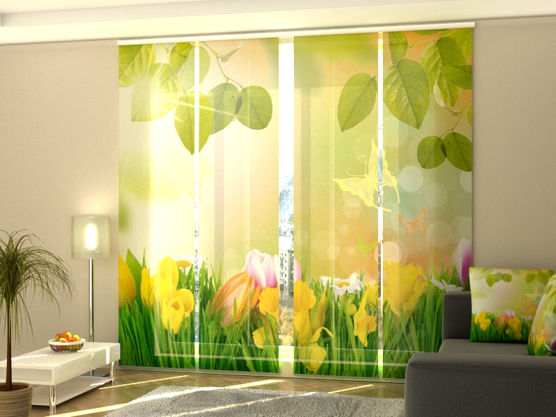 Set of 4 Panel Curtains May Aroma - Wellmira