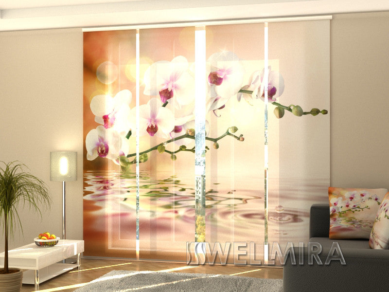 Set of 4 Panel Curtains Perfect Orchid - Wellmira