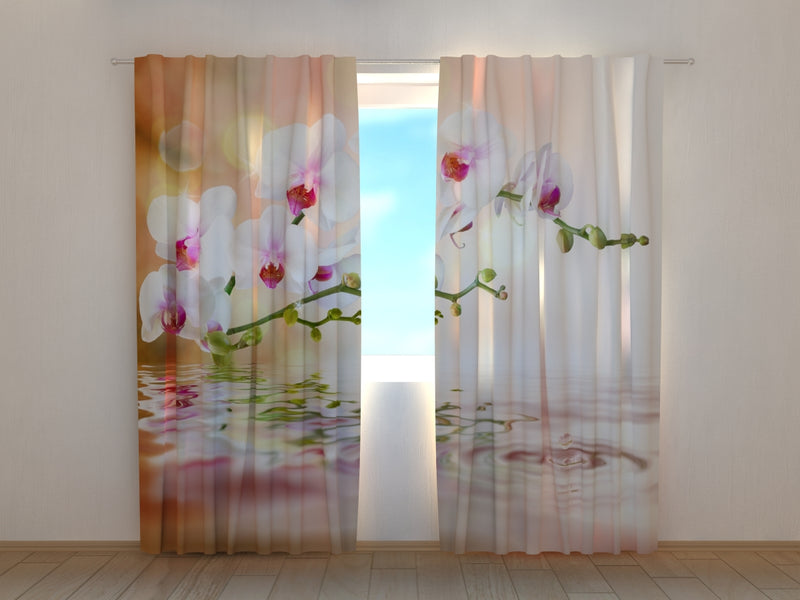 Photo Curtain Perfect Orchid - Wellmira